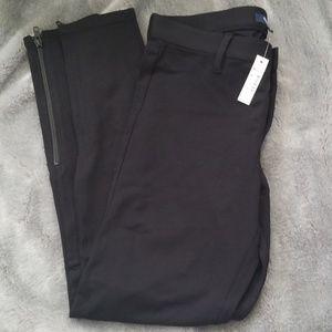 Madewell legging dress pants w/ankle zipper